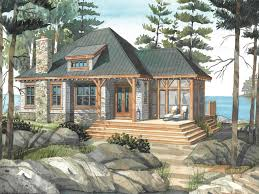 cottage home design plans small retirement home plans lakefront