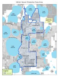 Winterhaven Florida Map by Deo Approves Haven Enterprise Zone Winter Haven Chamber Business