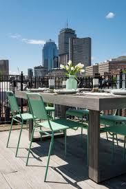 Outdoor Deck Furniture by Taking Advantage Of Outdoor Space In Boston Front Main