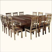 large square dining table seats 16 1j dallas ranch 13pc square pedestal large dining table chair set