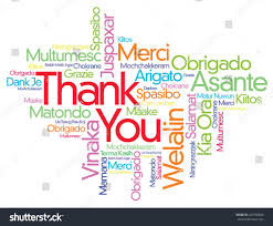 thanksgiving email format colorful thank you word cloud vector stock vector 227290846