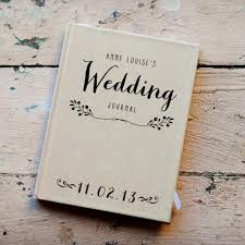 personalized wedding album wedding journal notebook wedding planner personalized