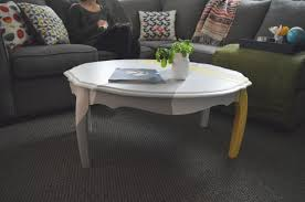 coffee table makeover darling arlo