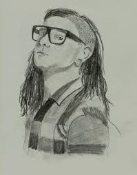 skrillex drawing by f iery on deviantart