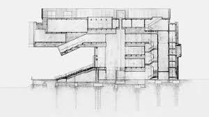 ica boston diller scofidio renfro section drawing final year