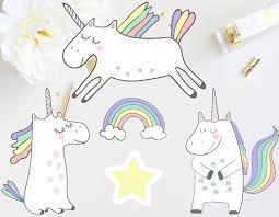 unicorn die cut stickers unicorn decals planner stickers 2 10