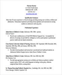 Clinical Manager Resume Sample Clinical Nurse Manager Resume 9 Examples In Pdf Word