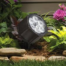 12 Volt Landscape Lighting Parts by 12 Volt Led 60 Degree Accent Light Textured Black