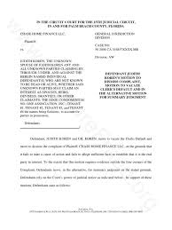 motion for summary judgment template 11 legal motion template