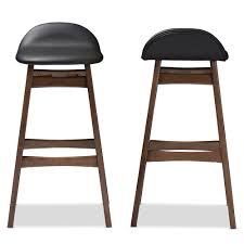 leather bar stools with nailhead trim burgundy leather bar stools