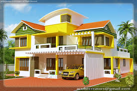Single Level Home Designs by Single Story House Plans With Elevation