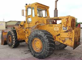 1968 caterpillar 966c wheel loader item j2166 sold sept