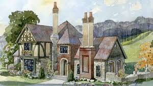 tudor mansion floor plans fireside cottage new south classics llc southern living house