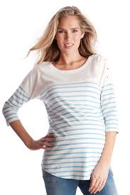 maternity nursing seraphine jillian breton stripe maternity nursing top maternity