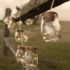 Mason Jar String Lights Glass Jar Firefly Led String Lights Antique Farmhouse