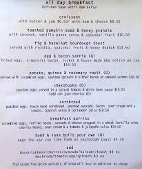 restaurants with light menus menu at bond lane canteen restaurant colonel light gardens