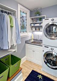 Laundry Room Storage Between Washer And Dryer Laundry Room Designs With Stackable Washer And Dryer Small Laundry