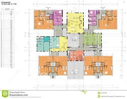 Download Floor Plans Floor Plan Of The Kindergarten Stock Image Image 27291081