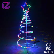 china led spiral lighting tree tree led light