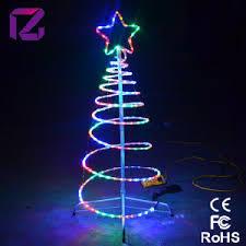 china led spiral lighting tree tree led light