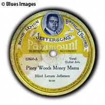 Blind Lemon Jefferson Matchbox Blues John Tefteller U0027s Museum Records Blind Lemon Jefferson