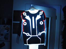 Tron Halloween Costume Led Lit Tron V2 0 Suit 13 Steps Pictures
