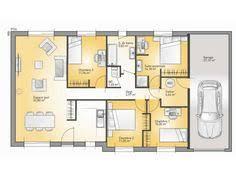 modele maison plain pied 4 chambres plan de maison archives page 57 sur 70 ideo energie