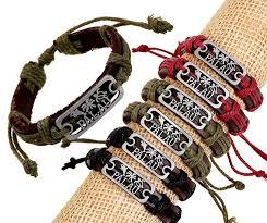 leather hand bracelet images Pk0135 2015 summer women men surfing hand bands leather bracelet jpg