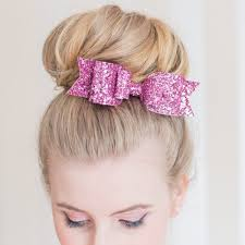 big bows for hair hair clip women girl big glitter hair bow kids hairpins hair