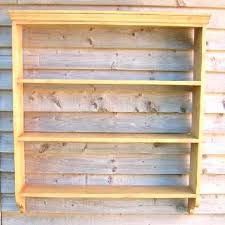 ikea white open shelving unit bedroom reclaimed pine bookcase