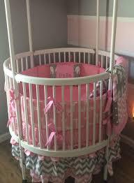 circular crib dream on me sophia posh circular crib white