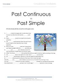 past continuous vs past simple consolidation online quiz