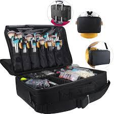 professional makeup trunk professional makeup bag large capacity cosmetic bags waterproof