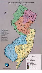 State Of New Jersey Map by Rutgers Cartography Lab