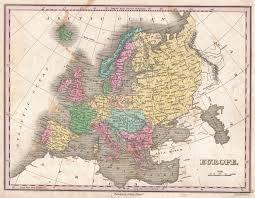 Maps Of Europe by File 1827 Finley Map Of Europe Geographicus Europe Finely 1827