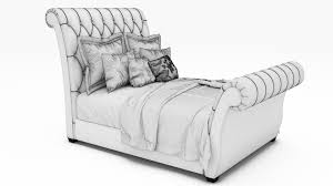Tufted Sleigh Bed Custom Tufted Sleigh Bed Tufted Sleigh Bed Look Very Luxury