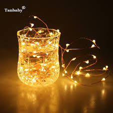 tanbaby led garland 2m 20led battery operated copper wire