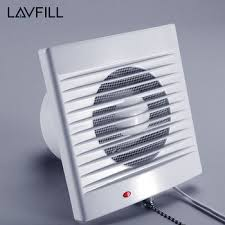 Bathroom Timer Window Mounted Kitchen Exhaust Fan Bathroom Extractor Fan With