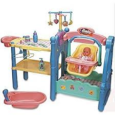 mazondsadas girls pretend play doll nursery center baby set