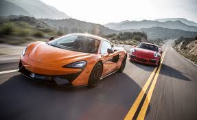porsche 911 gt3 front 2016 mclaren 570s vs 2016 porsche 911 gt3 rs u2013 comparison test