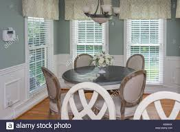 middle class home interior dining stock photos middle class home dining room interior of middle class american home in kentucky usa stock image