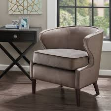 Barrel Accent Chair Park Lucca Barrel Accent Chair Grey See Below