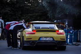 fastest porsche 918 2018 porsche 911 gt2 rs shatters nurburgring record with a 6min