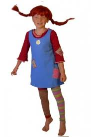 Pippi Longstocking Costume Children Desiree Fancy Dress Costume Hire