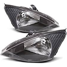 2003 ford focus headlight bulb amazon com ford focus non svt replacement headlight assembly