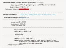 buat akun paypal whaff bukti pembayaran dari whaff rewards android app hudaberkah