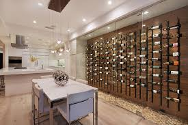wine racks and glass holders wine cellar contemporary with glass