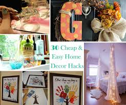 cheap diy home decor ideas stunning 30 and easy hacks are
