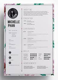 creative cv design pinterest pins 1215 best infographic visual resumes images on pinterest