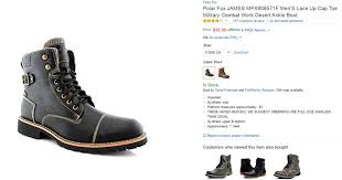 amazon s boots size 12 company recalls boots after discovers swastikas on soles ny